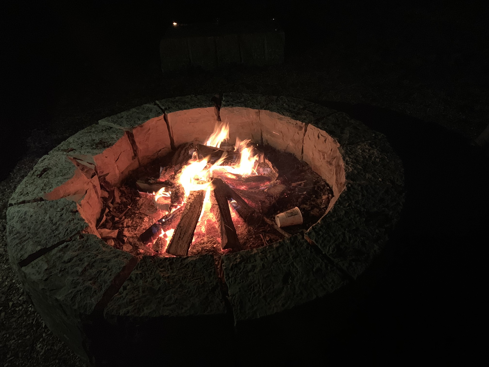 Primal fire pit
