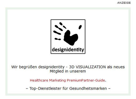 Healthcare Marketing : designidentity ist Premium-Partner