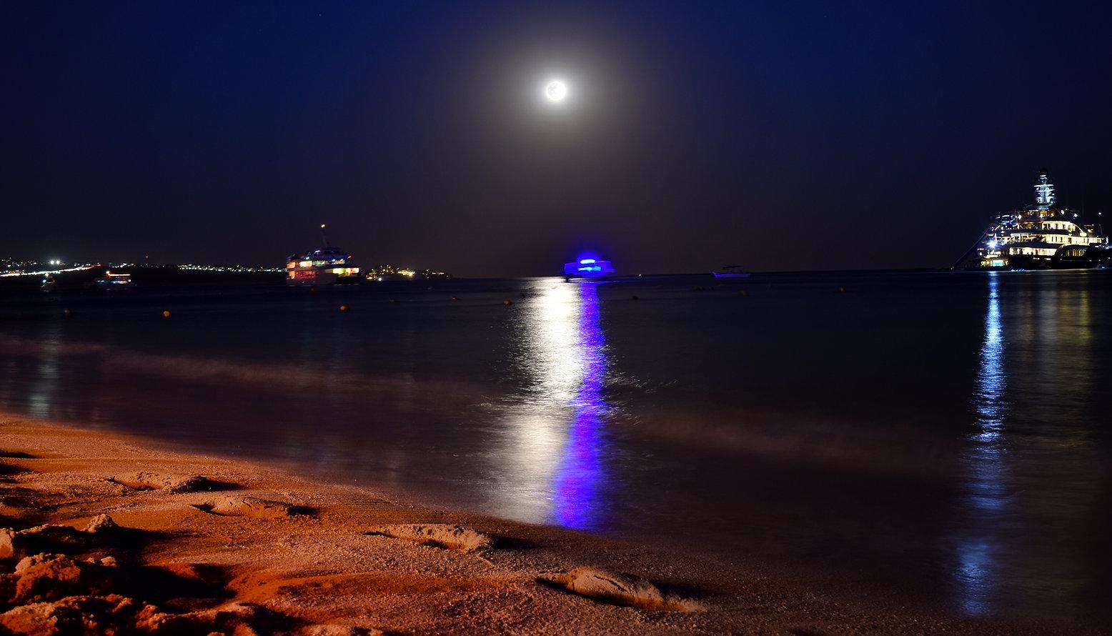 Noche en Playa