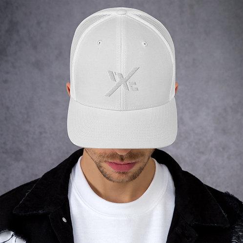 Mesh mXe Cap - White