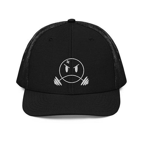 Mesh Bar Bender Snapback - White
