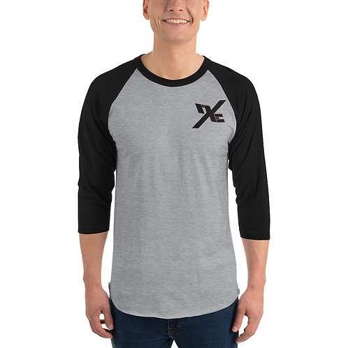 mXe 3/4 Sleeve Baseball Shirt