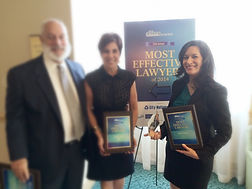 Cristina Alonso Receiving DBR Most Effective Lawyer Award