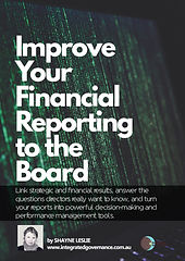 Improve your financial reporting to the