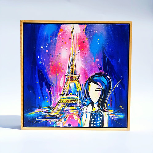 Fly to Paris (Sold)