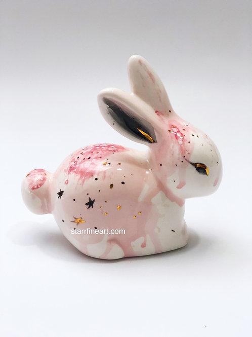 White Rabbit in Pink