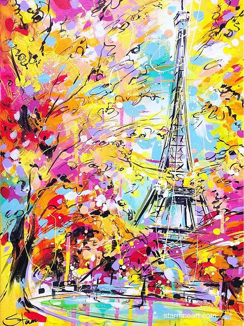 Eiffel Tower in Autumn SOLD