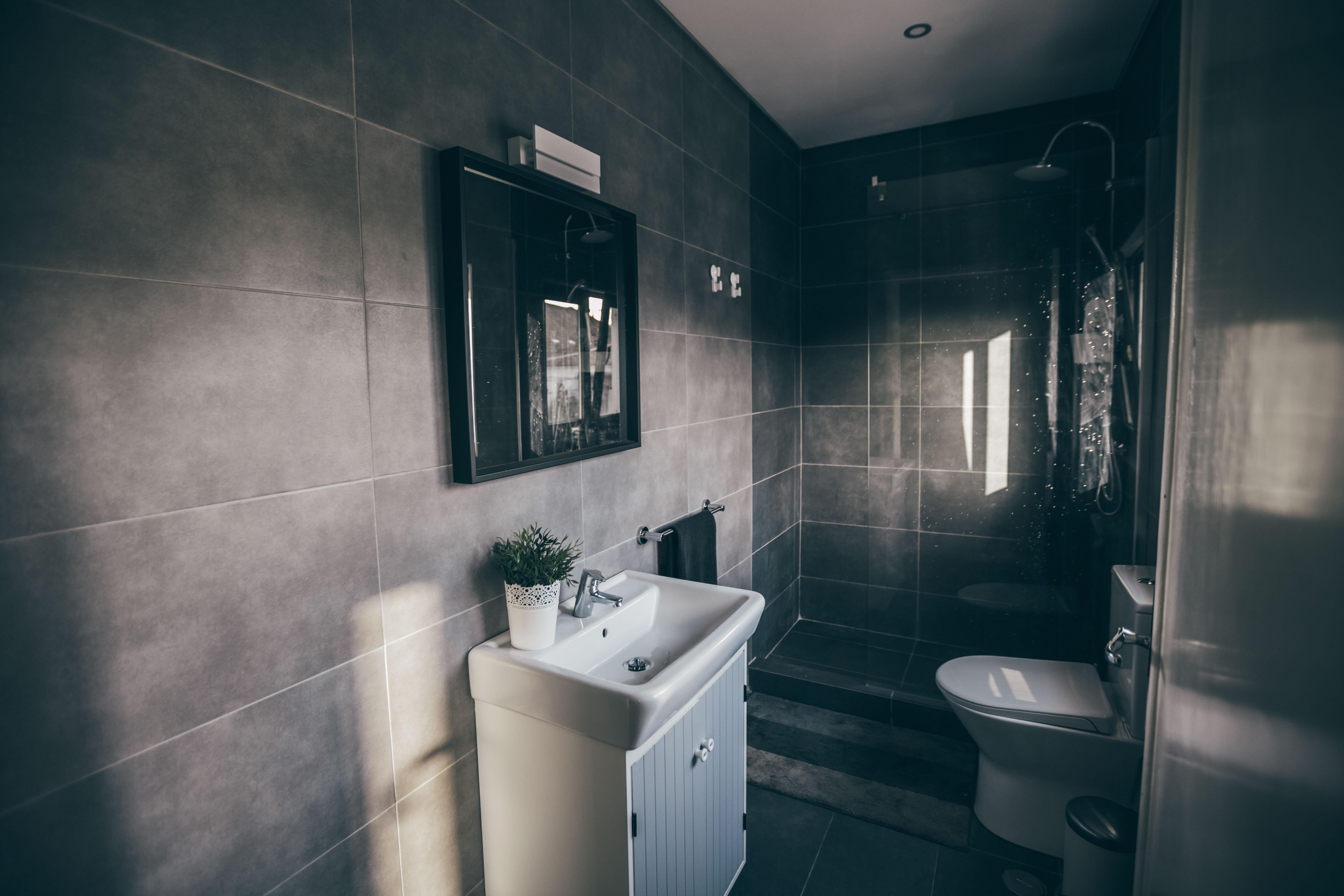 WC w/ shower