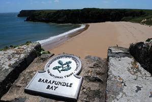 Barafundle Bay
