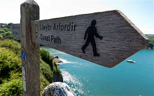 Pembs coast path is 186 miles long!