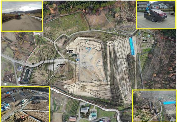 12月 地下水集排水管の設置完了