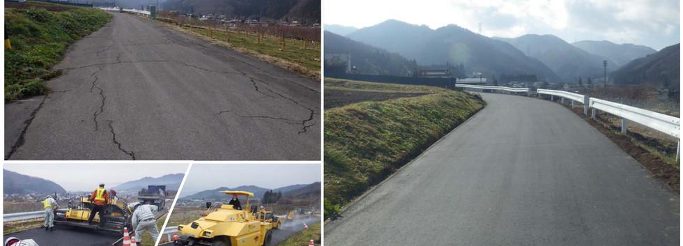 令和2年1月 舗装復旧工事を実施しました!