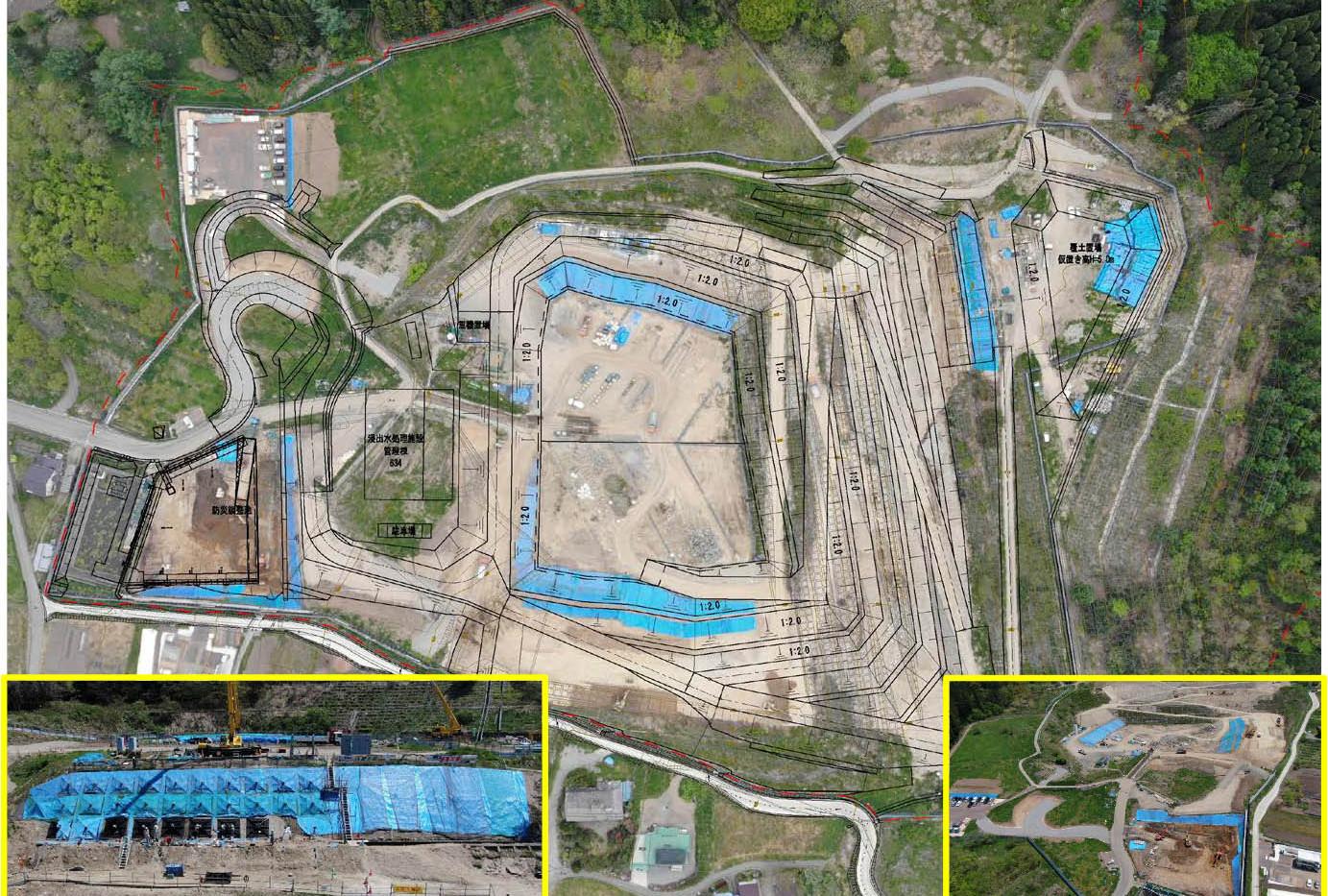 令和元年5月 防災調整池の掘削開始