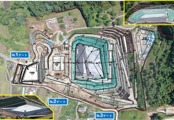令和2年6月 道路工事を中心に、水路工事などの構造物工事を行っています