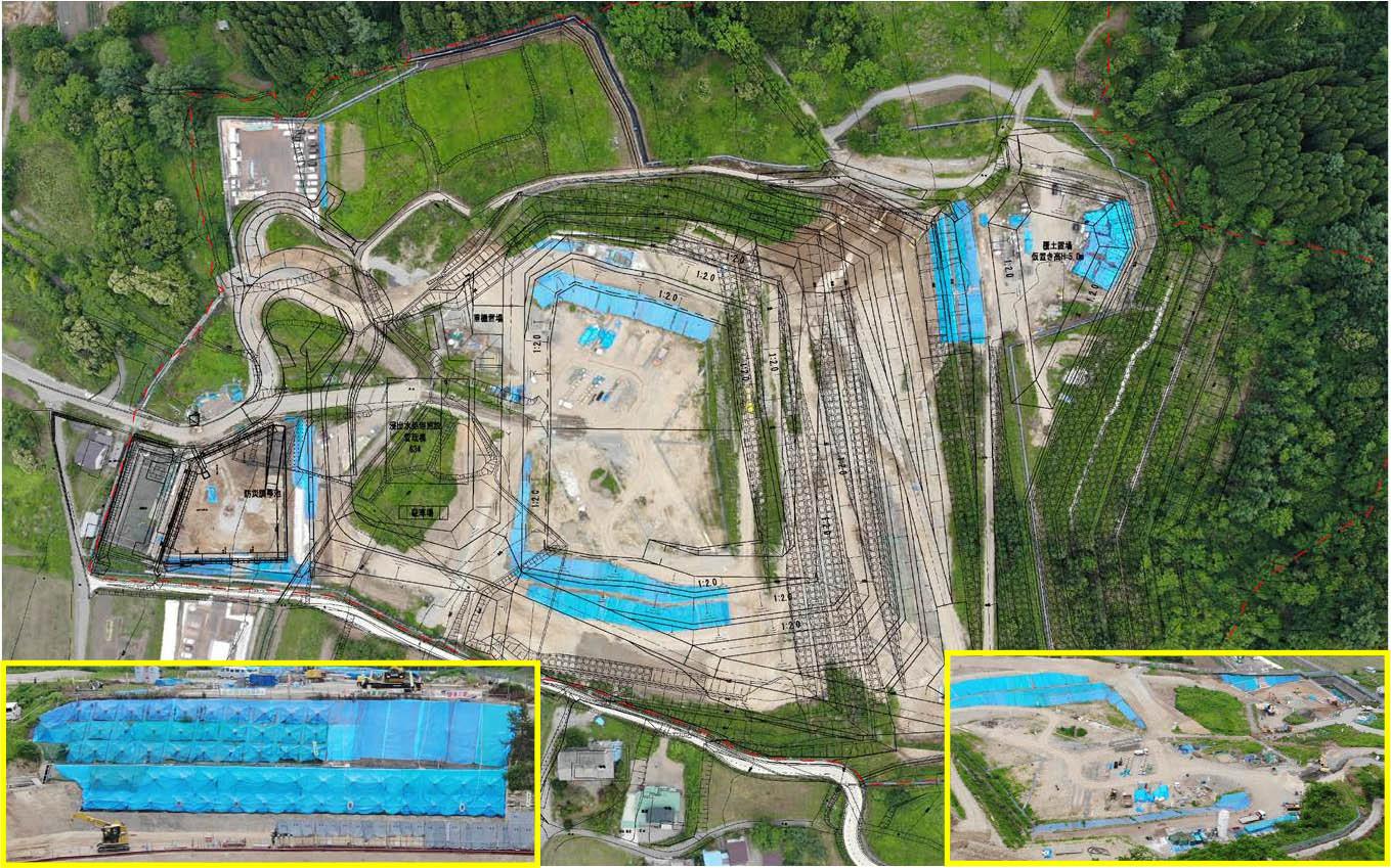 令和元年6月 浸出水集排水管の工事を開始しました!
