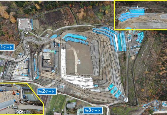 令和元年11月 埋立地の遮水設備工事を開始しました