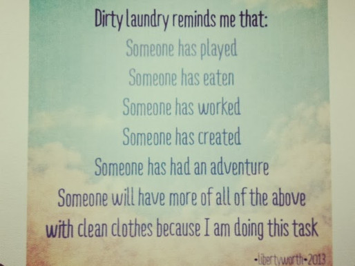 FOUND: An Ode to Laundry