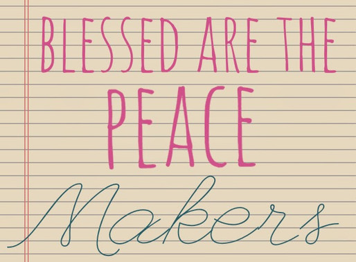 Two Cents: Be a Peace MAKER