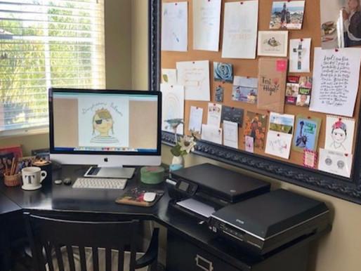 Home Office/Studio Peek