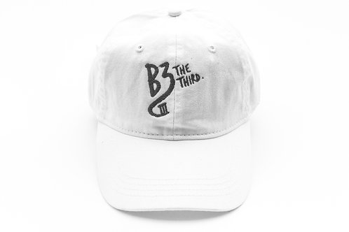 White/Charcoal Signature Hat