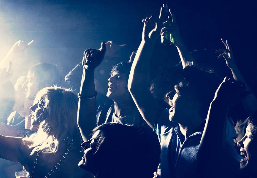 Rock Concert Audience Jubeln