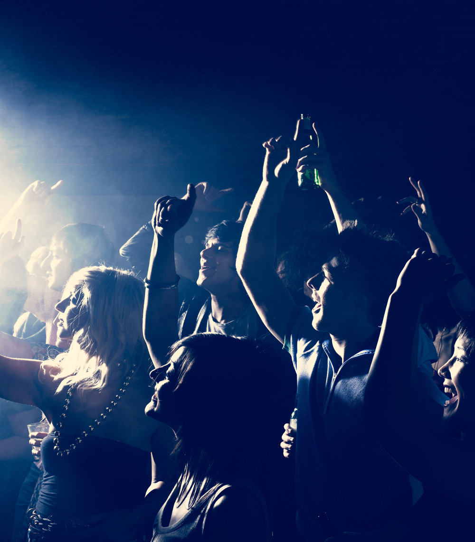 Audiência Rock Concert Torcer