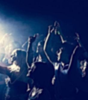 Rock Concert Audience Cheering