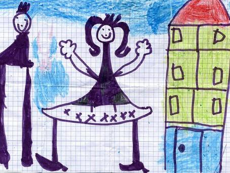 Como interpretar o desenho da família feito pelas crianças