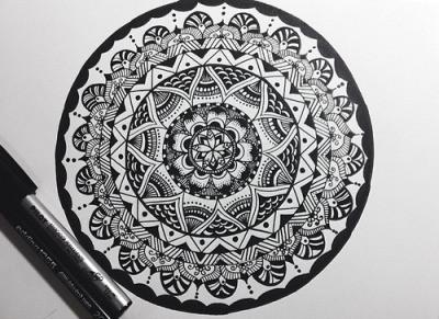 Mandala Atividade - A arte para auto-descoberta e cura