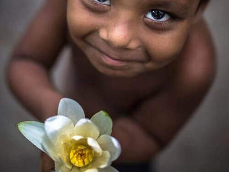 Agradecer não é educação, mas sim sinal de um poder extraordinário