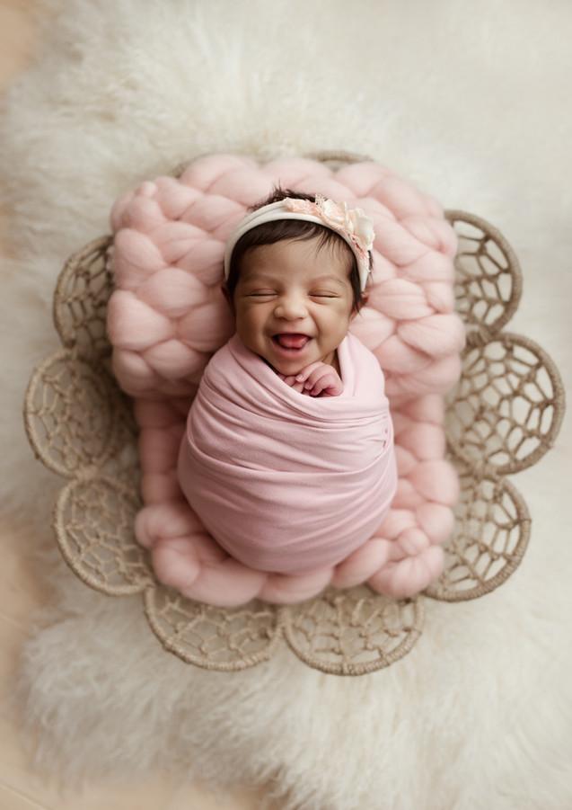 Lincoln Nebraska Newborn Photographer