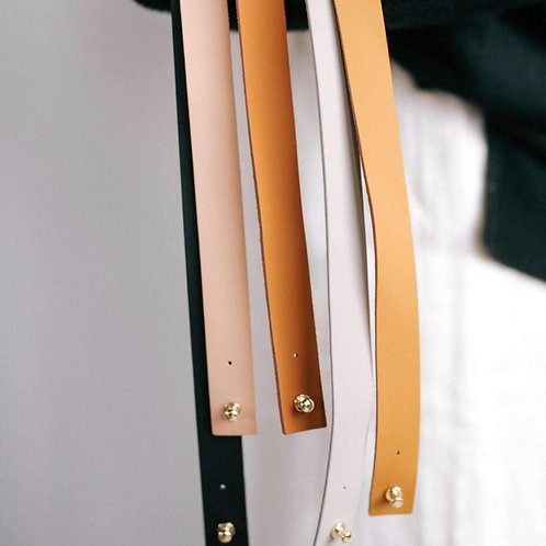 Gigi Pip Removable Leather Band - Pin