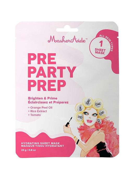 Pre Party Prep Sheet Mask