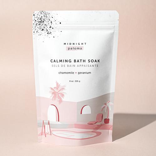 Calming Bath Soak | Camomile + Geranium