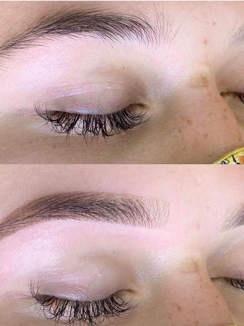 Brow Henna + Wax
