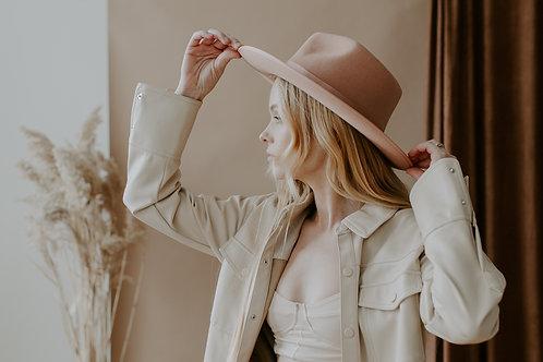 Gigi Pip Monroe Rancher - Dusty Pink