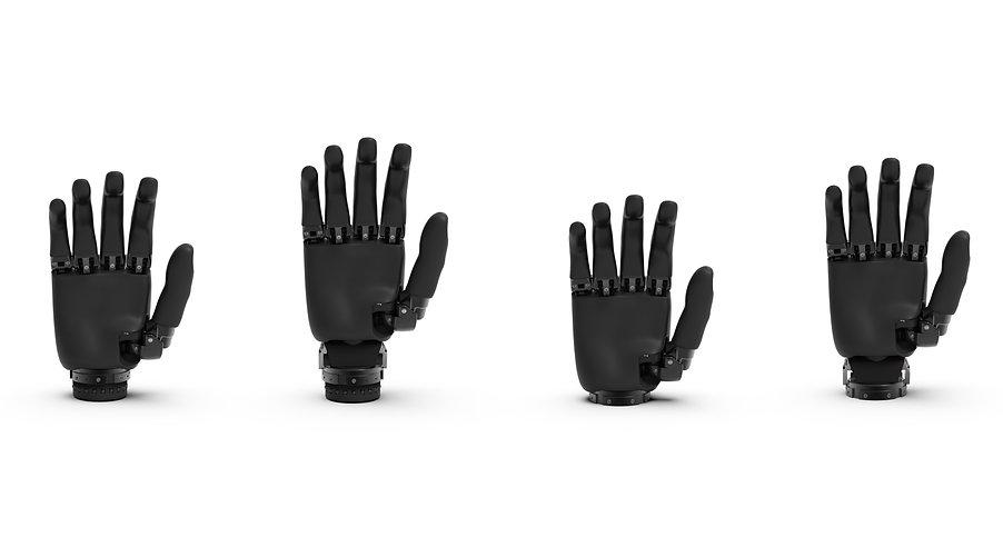 Handprothese rotieren