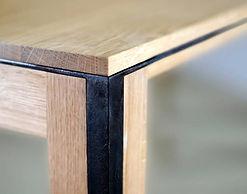 détail de table, design Christophe Lemaire pour La Manufacture Nouvelle