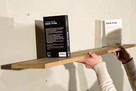 tuto sur la fixation d'étagères à fixation invisibles