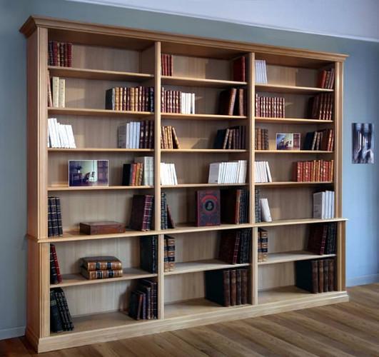 bibliotheque-bois-massif