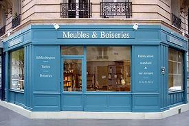 magasin de verrières bibliothèques et meubles à Paris