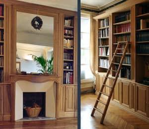 Bibliothèques sur mesure à Paris