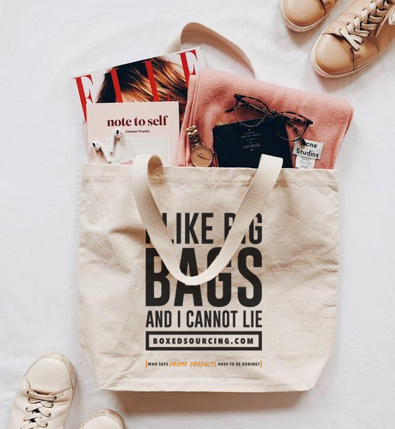 Branded Tote Bags + Accessories