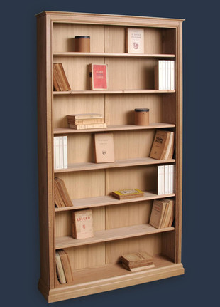 bibliotheque-peu-profonde-chene