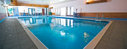 Indoor pool and sauna