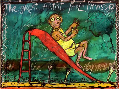 Великий артист Пабло Пикассо
