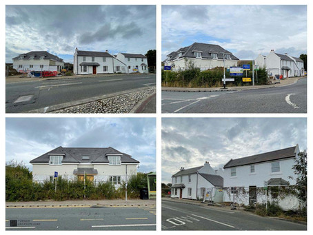 Residential development nearing completion