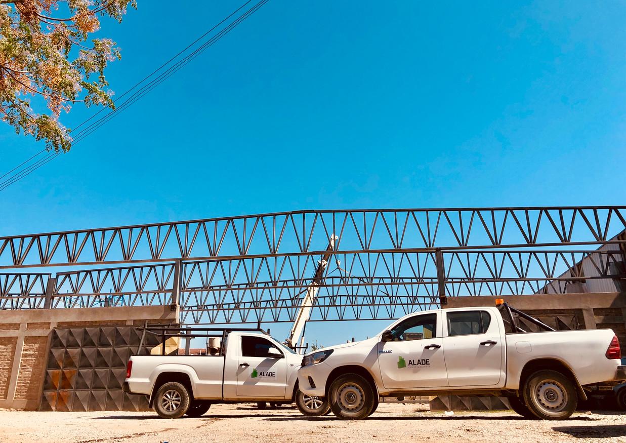 Construcción Nave industrial 990m2