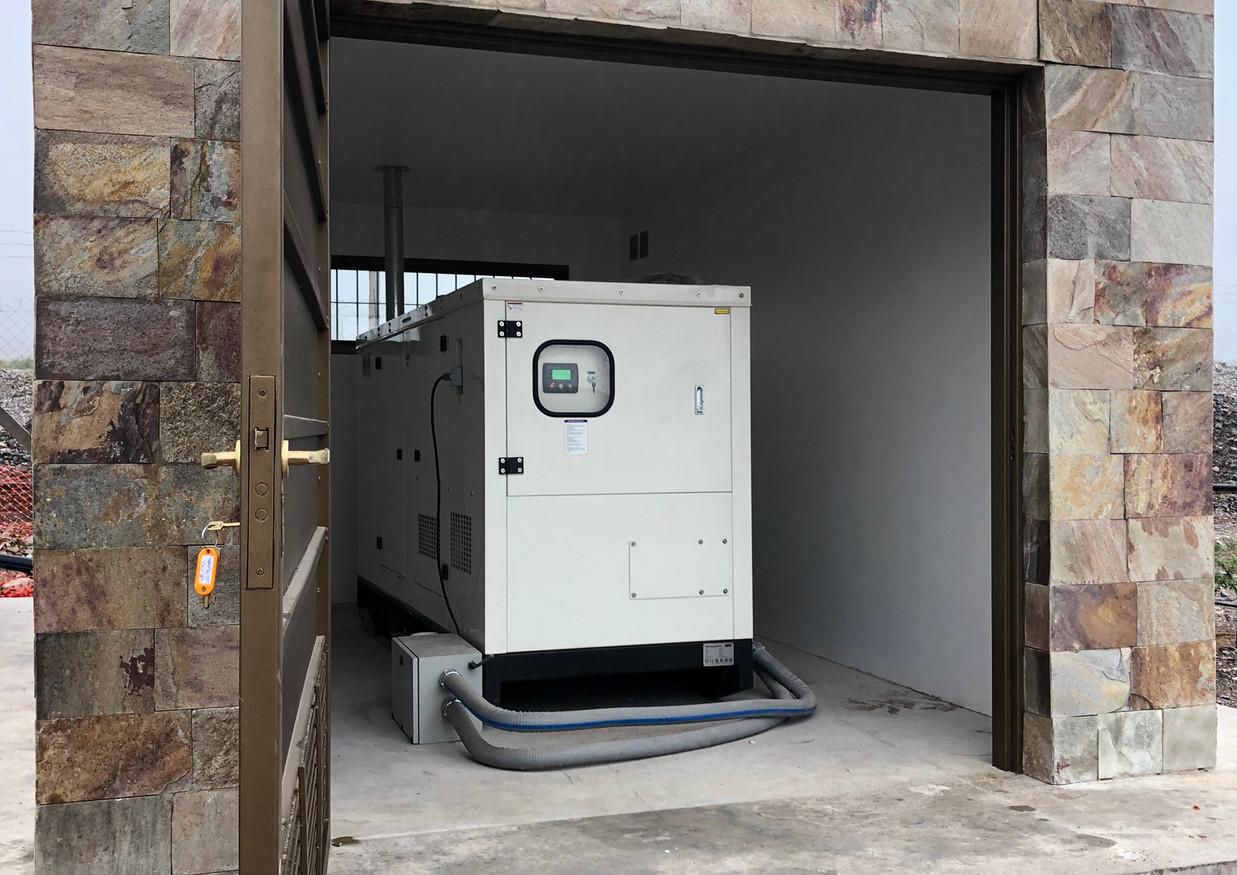 """Instalacion y puesta en marcha de grupo electrógeno de 150 KVA para Back Up en centro ambiental """"Anchipurac"""""""
