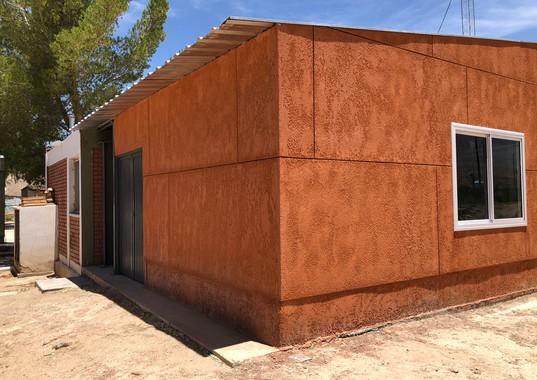 Depósito de alimentos para Escuela Rural